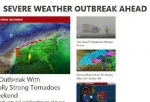 تصویر از 10 سایت از بهترین سایت های هواشناسی معتبر ایران و جهان بین المللی