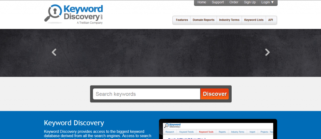 find best keywords