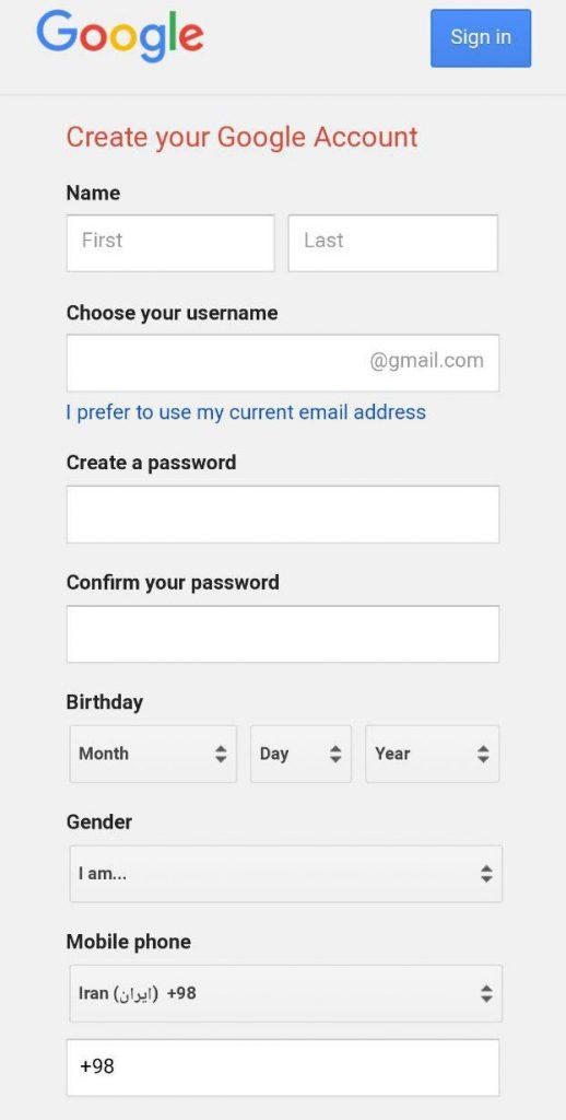 چگونه ایمیل بسازیم تصویری