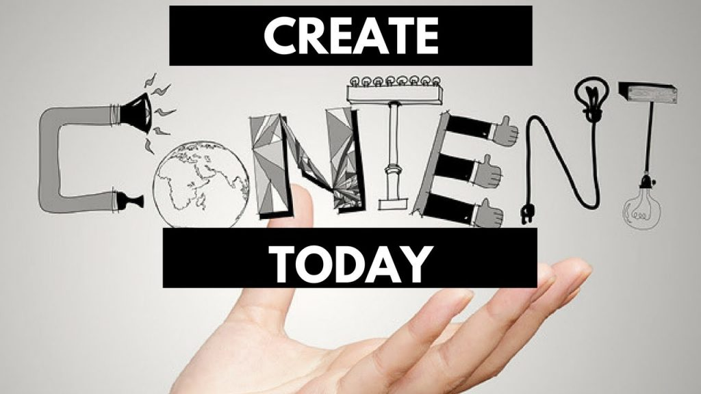 create content today